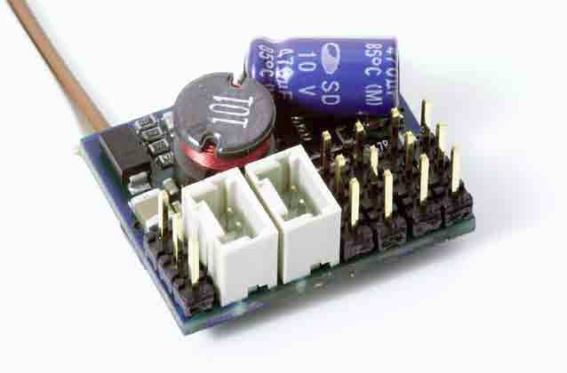 Massoth 8FS servo and auto-uncoupler decoder